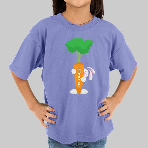 Personalized Easter Bunny Youth T-Shirt 37358X
