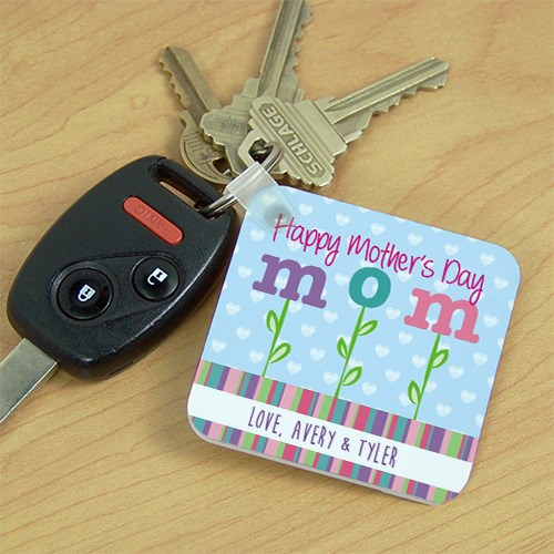Personalized Happy Mother's Day Key Chain 375210