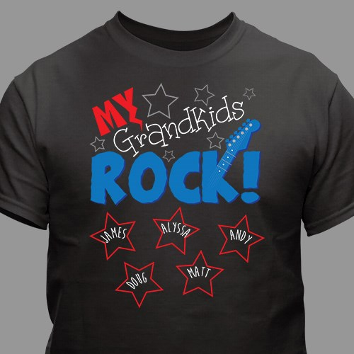 Personalized My Kids Rock T-Shirt 37886X