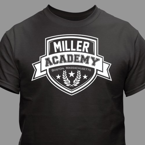 Personalized Academy T-Shirt 38183X