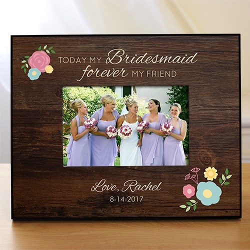 Personalized Forever My Friend Bridemaid Frame 4104370