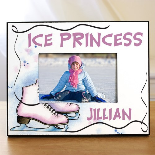 Personalized Ice Skating Printed Frame 438140