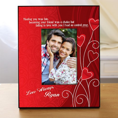 Personalized Love Printed Picture Frame 439050