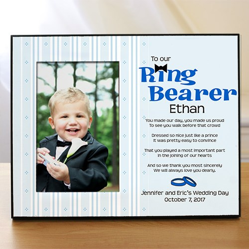 To Our Ring Bearer Personalized Printed Frame 433490
