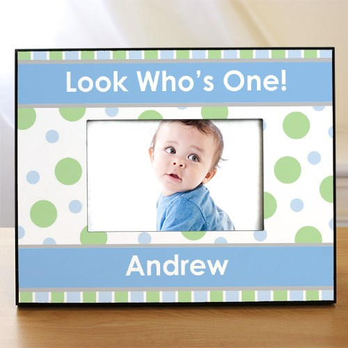 Personalized 1st Birthday Printed Picture Frame 455780