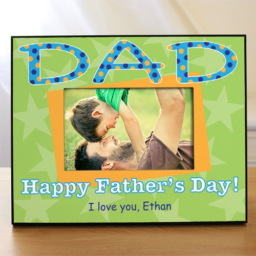 Personalized Dad Picture Frame 458930