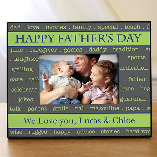 Personalized We Love You Daddy Picture Frame | Daddy Picture Frames