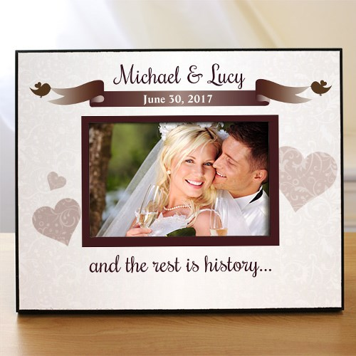 Personalized Wedding Printed Frame 459500