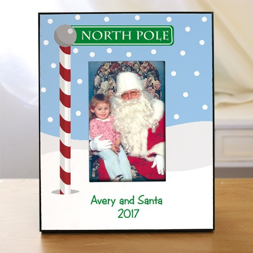 Visit With Santa Printed Frame 461930