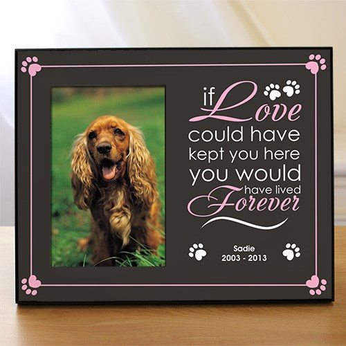 Personalized Pet Memorial Printed Frame 465966