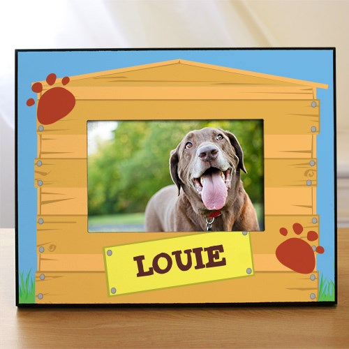 Personalized Dog House Printed Frame 466180