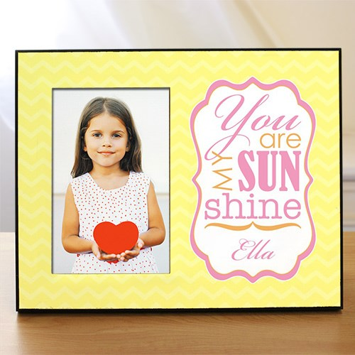 Personalized You Are My Sunshine Printed Frame 469626