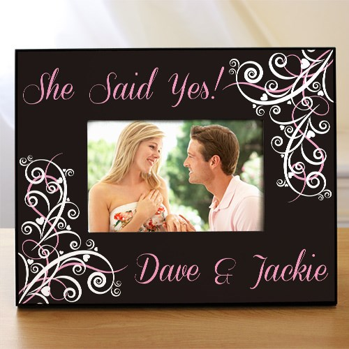 Personalized Wedding Collection Printed Frame 476110