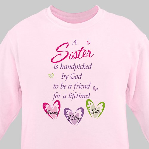 Personalized Sister Sweatshirt 52513X