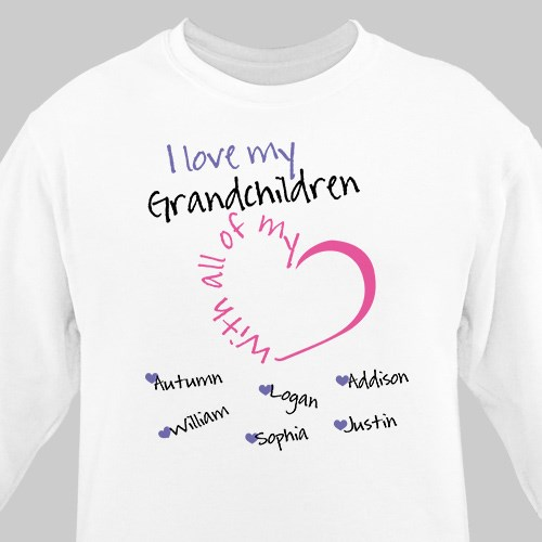 Personalized With All My Heart Sweatshirt 56223X
