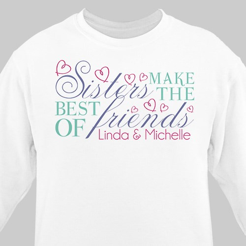 Sisters Friendship Sweatshirt 57826X