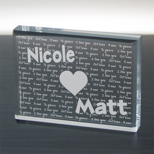Engraved I Love You Keepsake 726383