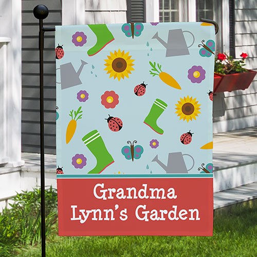 Personalized Gardening Flag 830104672X