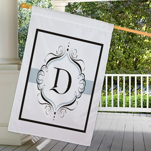 Personalized Monogram House Flag 83033452L