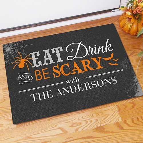 Custom Printed Halloween Welcome Doormat 83178717X