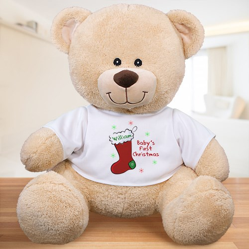 Personalized Baby's First Christmas Teddy Bear 8324809X