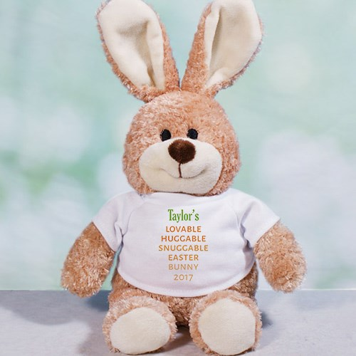 Carrot Love Personalized Easter Bunny 86101048L