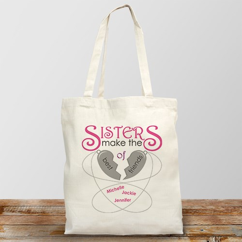 Personalized Sisters Make The Best Friends 862062X