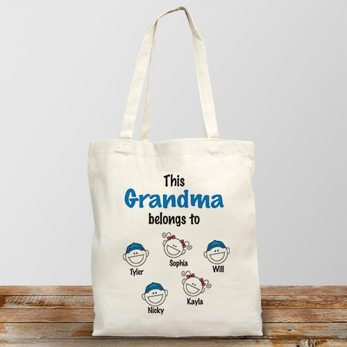 Personalized Belongs to Tote Bag 863112X
