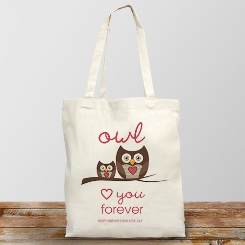 Personalized Love You Forever Tote Bag 875742