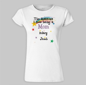 Reason I Love Personalized Ladies' Fitted T-Shirt 91633X