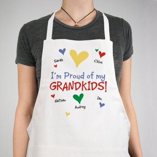 Proud of my...Personalized Apron