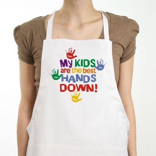 Personalized Apron for Dad, Mom, Grandma or Grandpa