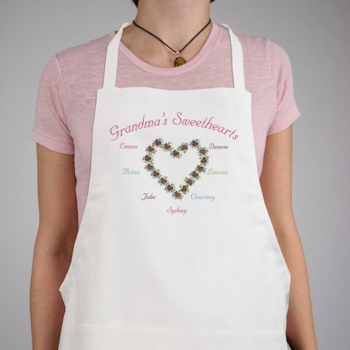 My Sweethearts Personalized Apron