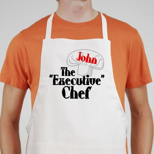 Personalized Executive Chef Aprons