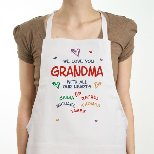 All Our Hearts Personalized Apron