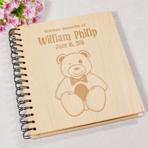 New Baby Keepsake Photo Album