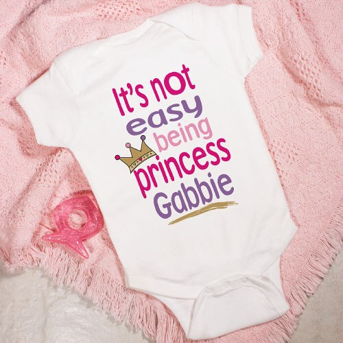 Personalized Princess Infant Creeper