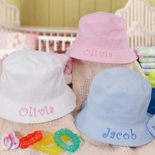 Personalized Baby Sun Hat