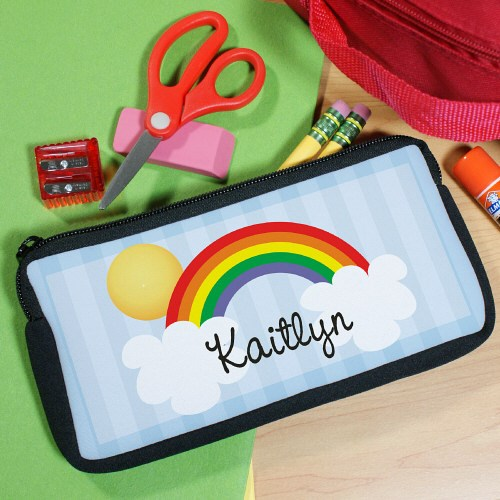 Over The Rainbow Personalized Pencil Case U36327