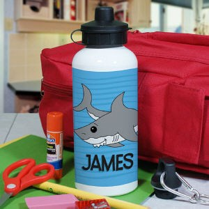 Personalized Shark Water Bottle U394920