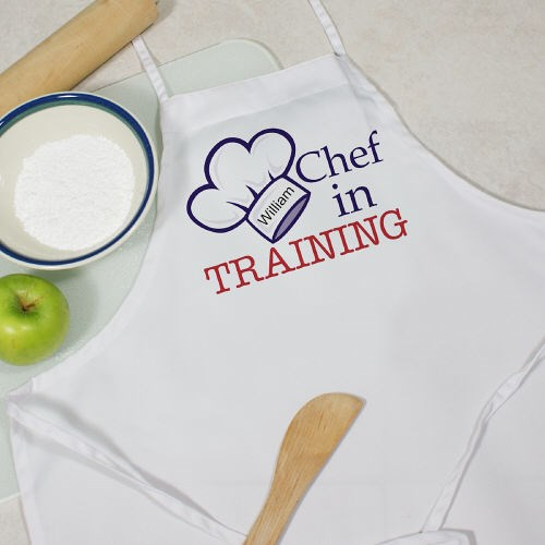 Personalized Chef in Training Youth Apron Y868177