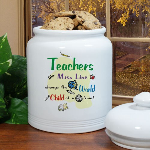 Change The World Ceramic Cookie Jar U112215