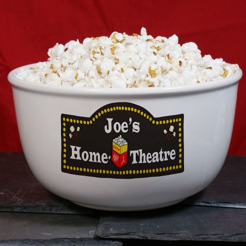 Home Theatre Personalized Ceramic Bowl U181113