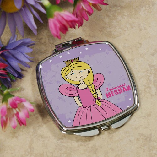 Personalized Princess Compact Mirror 436609