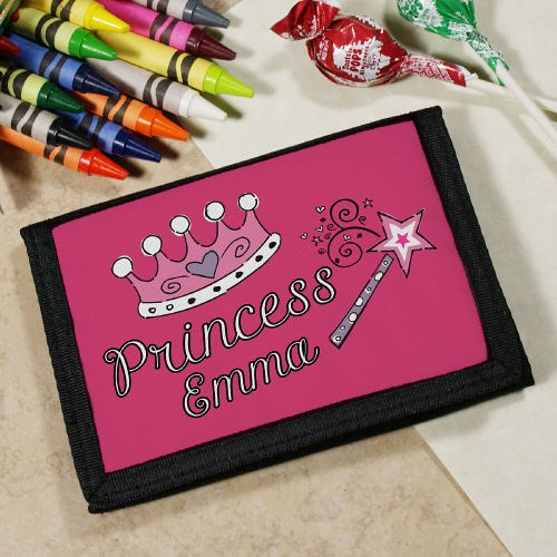 Personalized Pretty Princess Wallet