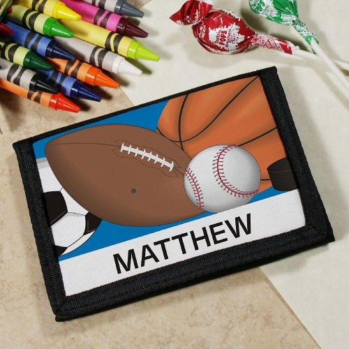 Personalized Sports Fan Wallet