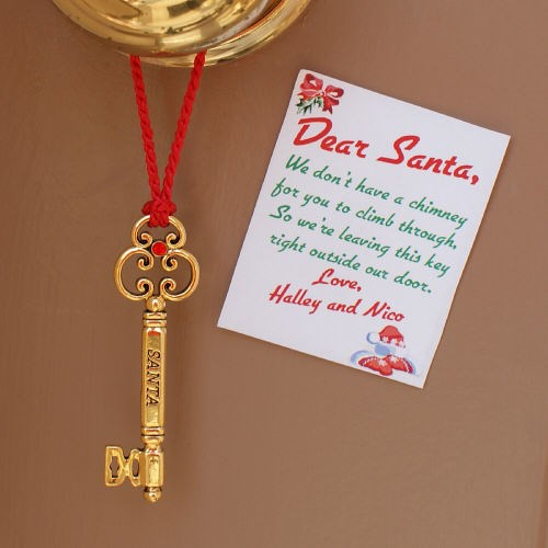 Personalized Santas Magic Key for Christmas