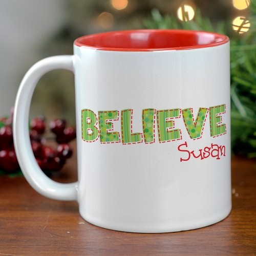 Believe Christmas Mug 27986x