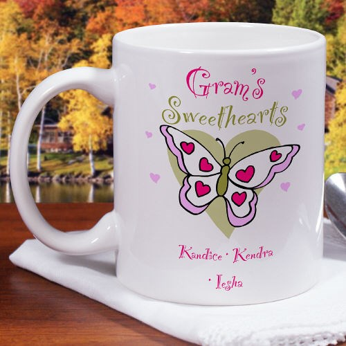 Personalized Valentines Day Coffee Mug for Mom