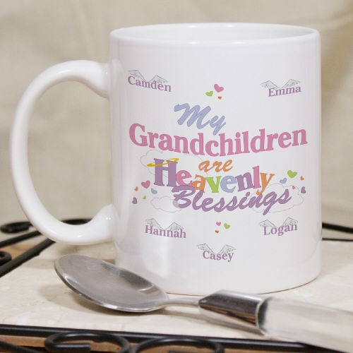 Personalized Heavenly Blessings Coffee Mugs